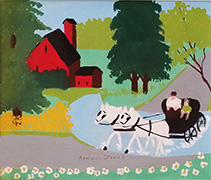 Maud Lewis The Wedding Party